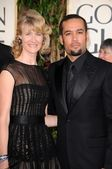 Laura Dern and Ben Harper — Stock Photo