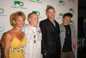 Kellan Lutz and family at the Moods of Norway U.S. Flagship Launch, Beverly Hills, CA 07-08-09 — Stock Photo