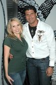 Alana Curry and Jose Canseco at the Birthday Bash for Katie Lohmann. S Bar, Hollywood, CA. 01-27-09 — Stock Photo