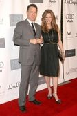 Tom hanks en rita wilson — Stockfoto