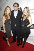 Shauna Robertson with Jonah Hill and Danielle Marcus — Stock Photo
