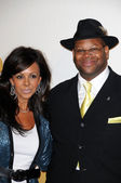 Jimmy Jam and Wife Lisa at The GRAMMY Nominations Concert Live!, Club Nokia, Los Angeles, CA. 12-02-09 — Foto Stock