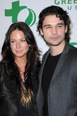 Lynn Collins and Steven Strait — Стоковое фото