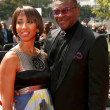 Keith David and Wife At 60th Primetime Creative Arts Emmy Awards Red Carpet. NokiLive Theater, Los Angeles, CA. 09-13-08 — Stock Photo #15104645