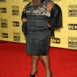 Gabourey Sidibe  at the 15th Annual Critic's Choice Awards, Hollywood Palladium, Hollywood, CA. 01-15-10 — Stock Photo
