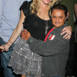 Stock Photo: Erin Raftery and Deep Roy at World Cup Showdown Fundraiser, El Guapo Cantina, Los Angeles, CA. 11-06-09