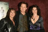 Jennifer Chambers Lynch with Bill Pullman and Julia Ormond — Stock Photo