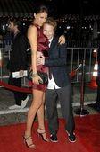 Amanda Crew, Seth Green — 图库照片