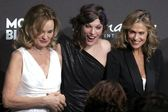 Jessica Lange with Milla Jovovich and Lauren Hutton at the Montblanc 'Signature for Good' Charity Gala. Paramount Studios, Los Angeles, CA. 02-20-09 — Stock Photo