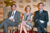 John Krasinski, Diane Kruger and Justin Timberlake at the 67th Annual Golden Globe Awards Nominations Announcement, Beverly Hilton Hotel, Beverly Hills, CA. 12-15-09 — Stockfoto