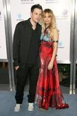 Joel Madden and Nicole Richie — Stock Photo