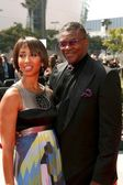 Keith David and Wife At the 60th Primetime Creative Arts Emmy Awards Red Carpet. Nokia Live Theater, Los Angeles, CA. 09-13-08 — Stock Photo