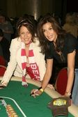 Joely Fisher and Teri Hatcher at the 'All in For All Good' Celebrity Poker Tournament benefitting Maximum Hope Foundation and Dream Foundation. Commerce Casino, Commerce, CA. 05-30-09 — Stock Photo