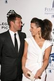Ryan Seacrest and Kate Beckinsale — Stock Photo