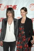 Katherine Moennig and Leisha Hailey at the Showtime Winter TCA Party. Roosevelt Hotel, Hollywood, CA. 01-14-09 — Stock Photo