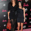 Khloe Kardashian and Kourtney Kardashian at Barbie's 50th Birthday Party. Barbie's Real-Life Malibu Dream House, Malibu, CA. 03-09-09 — Stock Photo