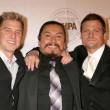 Stock Photo: Kenny Johnson with Gregory Cruz and Bailey Chase