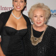 Alex Meneses and Doris Roberts  at the International Myeloma Foundations 3rd Annual Comedy Celebration for the Peter Boyle Memorial Fund, Wilshire Ebell Theater, Los Angeles, CA. 11-07-09 - Stock Photo