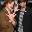 jon heder and his brother — Stock Photo