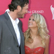 Blake Shelton and Miranda Lambert — Stock Photo
