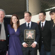 Kiefer Sutherland with cast of 24   at the Ceremony Honoring Kiefer Sutherland with the 2,377th Star on the Hollywood Walk of Fame. Hollywood Boulevard, Hollywood, CA. 12-09-08 - Stok fotoğraf