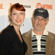 Diablo Cody and Steven Spielberg — Stockfoto