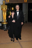 Aleb Deschanel and wife Mary Jo at the 2009 Governors Awards presented by the Academy of Motion Picture Arts and Sciences, Grand Ballroom at Hollywood and Highland Center, Hollywood, CA. 11-14-09 — Stock Photo