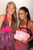 Morgan Waterman and Christina Milian — Stock Photo