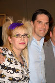 Kirsten Vangsness and Thomas Gibson — Stock Photo