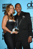 Mariah Carey and Nick Cannon — Stock Photo