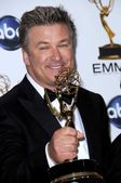 Alec Baldwin in the press room at the 60th Annual Primetime Emmy Awards. Nokia Theater, Los Angeles, CA. 09-21-08 — Stock Photo