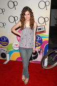 """Hayley McFarland at the """"OPen Campus"""" New OP Campaign Launch Party, Mel's Diner, West Hollywood, CA 07-07-2009 — Stock Photo"""