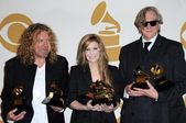 Robert Plant with Alison Krauss and T-Bone Burnett — Photo