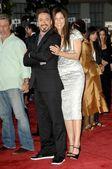 Robert Downey Jr and Catherine Keener — Stock Photo