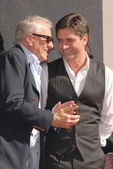 Garry Marshall and John Stamosat the induction ceremony of John Stamos into the Hollywood Walk of Fame, Hollywood Blvd., Hollywood, CA. 11-16-09 — Stock Photo