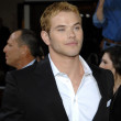 Kellan Lutz  at the The Twilight Saga New Moon Los Angeles Premiere, Mann Village Theatre, Westwood, Ca. 11-16-09 — Stock Photo
