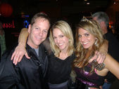 Keifer Sutherland, Renee Intlekofer and Bridgetta Tomarchio at Bridgetta Tomarchio B-Day Bash and Babes in Toyland Toy Drive, Lucky Strike, Hollywood, CA. 12-04-09 — Stock Photo