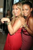 Heather Betts and Christina Milian — Stock Photo