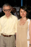 Woody Allen and Soon Yi Previn — Stock Photo