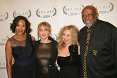 Vivica A. Fox, Taryn Manning, Melody Storm and Louis Gossett Jr. at the Opening Night of Bel Air Film Festival, UCLA James Bridges Theatre, Los Angeles, CA. 11-13-09 — Stock Photo