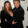 Keely Shaye Smith and Pierce Brosnan  at the Peace Over Violence 38th Annual Humanitarian Awards, Beverly Hills Hotel, Beverly Hills, CA. 11-06-09 - Stock Photo
