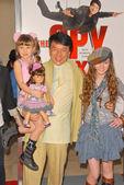 Jackie Chan, Alina Foley and Madeline Carroll — Stock Photo