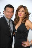 David Barrera and Maria Canals-Barrera — Stock Photo
