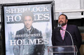 Joel Silver at Robert Downey Jr. Hand and Footprints Ceremony, Chinese Theater, Hollywood, CA. 12-07-09 — Foto de Stock