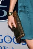Sarah Jane Morris's purse — Stock Photo