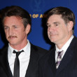 Sean Penn and Gus Van Sant — Stock Photo