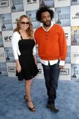 Mariah carey e lee daniels — Foto Stock