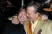 Roddy Piper and Mickey Rourke — Foto de Stock