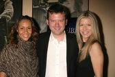 Kiki Haynes with Paul Sizemore and Susan Duerden at the Los Angeles Screening of Double Duty. Raleigh Studios, Los Angeles, CA. 12-13-08 — Stock Photo