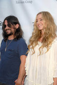 Shooter Jennings and Drea de Matteo — Stock Photo